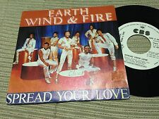 "EARTH WIND & FIRE SPANISH 7"" SINGLE SPAIN ONE SIDED WHITE LABEL - SPREAD FUNK"