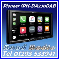 "Pioneer SPH-DA230DAB 7"" Apple CarPlay Android Auto DAB Radio Car Stereo"