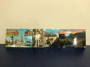 3 Vintage Austria Postcards Midcentury 1960's Europe Ephermera Posted