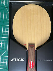 Stiga Clipper Wood Master 7 Ply Table tennis Blade Shakehand Made In Sweden
