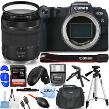 Canon EOS RP Mirrorless Camera with 24-105mm f/4-7.1 Lens + 32GB + Flash Bundle