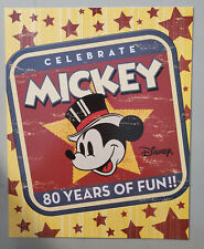 Australia Souvenir Sheets 2008 Celebrate Mickey. 80 Years of Fun Stamps.  MNH.