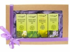 Essential Oil Gift Set - 4 Oils | 100% Pure & Organic, Therapeutic & Food Grade