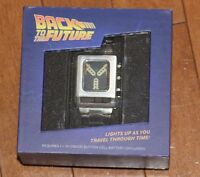 BTTF Back to the Future Stainless Steel Flux Capacitor Watch