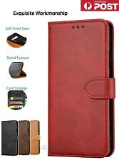 【Genuine Leather】Magnetic Flip Wallet Case Cover for Samsung Note10+,S9,10,S20
