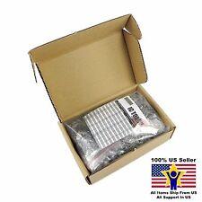 20value 500pcs Electrolytic Capacitor Assortment Box Kit US Seller KITB0002