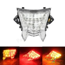 1x Rear LED Tail Lights Clear Integrated Turn Signals For BMW S1000RR S1000R HP4
