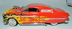 Heatcraft 1950 Ford Custom Street Rod die cast 1:24 scale Collectible replica