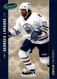 2005-06 Parkhurst Oilers Hockey Card #199 Georges Laraque