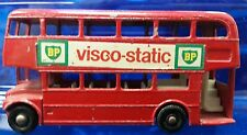 MatchBox/Lesney No. 5 Routemaster Bus BP Red w/Blk wheels Lot 15