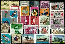 WORLDWIDE SELECTION OF 27 MNH STAMPS, VERY NICE LOT!!! WATCH THE HD PICTURE