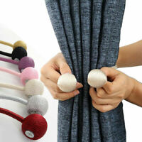 1PC For Home Curtain Magnetic Hooks Rope Buckle Tie Backs Holdbacks Accessories