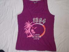 Ladies Purple t-shirt size 14