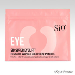 SiO Super EyeLift Overnight Wrinkle Smoothing 2 or4 Patches Anti-Aging Reusable