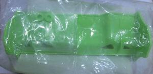 Aleron universal para 1/8 TT color verde fluor mas pegatinas