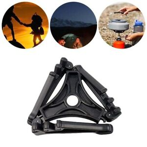 Folding Gas Canister Stand Camping Stove Base Can Tank Tripod by Chur Outdoors