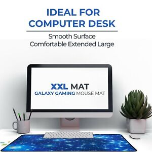 Galaxy Mouse Mat Pad for Gaming Xl Anti-Slip Mat for Computer Pc Mac Laptop Desk