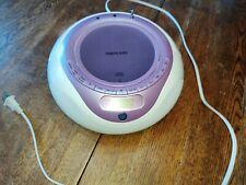 Memorex Portable  Pink CD Player/ Radio