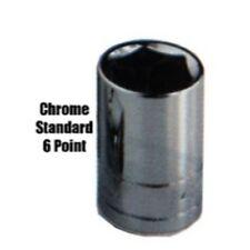 "K Tool kti-24130 3/4"" Drive Estandar 6 Point CROMO Socket 15/16"""