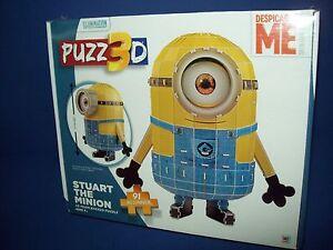 91 Pcs STUART THE MINION Dispicable Me PUZZLE PUZZ3D