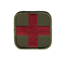 Ukrainian Disaster Medical Service Patch Medic First Aid Flag Tryzub
