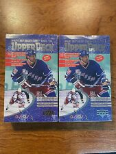 2 x 1996-97 Upper Deck Series 2 NHL Hockey Cards Hobby Box  Factory Sealed lot