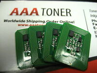 4 x Toner Reset Chip for Xerox Phaser 7400, 7400DN, 7400DT 7400DX Refill