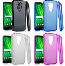 "For Motorola Moto E5 XT1920DL 5.7"" TPU Flexible Skin Case Phone Cover"