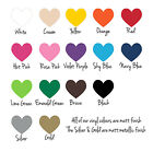 Classic Hearts Vinyl Wall Art Stickers, Bedroom, Lounge, Hallway, Kitchen Study