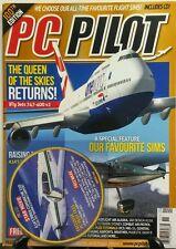 PC Pilot Nov Dec 2015 The Queen Of The Skies Returns Flight Sim FREE SHIPPING sb