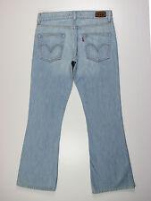 Levis womens size 32w reg leg 32L Marissa mid rise bootcut blue jeans
