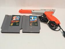 Authentic Super Mario Bros & Duck Hunt with Gun Great working condition for NES