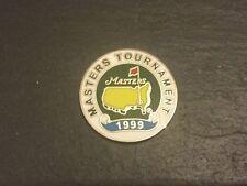 1999 nos maestros de la pelota de Golf Logo Augusta marcador plana Jose Maria Olazabal de moneda