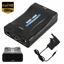 Scart To 1080P HDMI Converter Audio Video Adapter For STB HDTV Sky Box with Plug