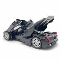1:32 Scale Ferrari LaFerrari Model Car Diecast Toy Vehicle Doors Open Black Kids
