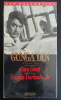 GUNGA DIN Cary Grant VHS Tape RKO Collection Movie NEW Sealed 1988 FREE SHIPPING