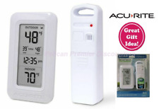 ACURITE Wireless Thermometer Model 00826 with Digital Clock