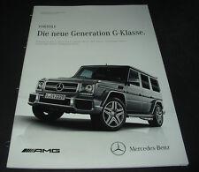 Technische Information Mercedes G-Klasse W 463 Geländewagen Produktinformation!
