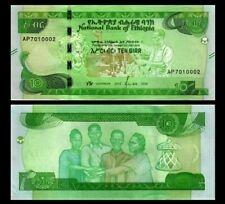ETHIOPIA 10 BIRR 2020 YEAR P NEW UNC