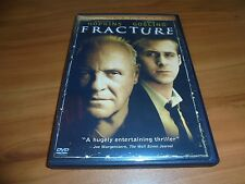 Fracture (DVD, 2007, Widescreen) Ryan Gosling, Anthony Hopkins Used