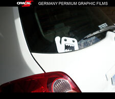 Domo-kun hi hello cute funny rear window JDM Car vinyl Decal Sticker
