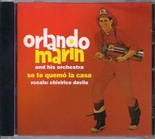 FANIA Salsa RARE First Pressing ORLANDO MARIN se te quemo la casa CHIVIRICO
