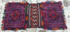 "Handmade Rug 1'6""x3'3'' Tribal Bags Saddlebag Nomadic Baluch Donkeybag Rug"
