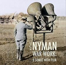 MICHAEL NYMAN: WAR WORK - EIGHT SONGS WITH FILM NEW CD