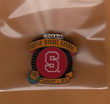 2014 ROSE BOWL GAME LAPEL PIN STANFORD CARDINAL OFFICIAL Unsold Game Site Stock