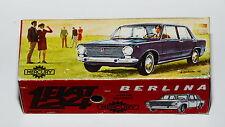 Reprobox MERCURY Nº 46-Fiat 124 Berlina