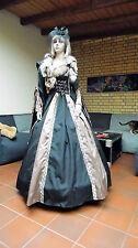 Mittelalter Kleid Reifrock Fuchspelz mit Kopf Luthers Hochzeit Larp XS S M 32-36