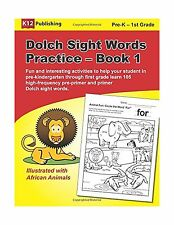 Dolch Sight Words Practice - Book 1: Fun and interesting activi... Free Shipping