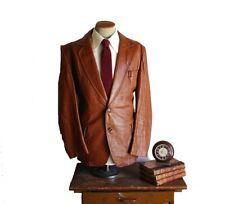 Men's Genuine Lambskin Leather Blazer Celebrity Style Smart Casual Coat - MB021