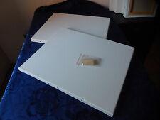 Lot de 2 Toiles /à Peindre en Coton 24x30cm 280gr//m2